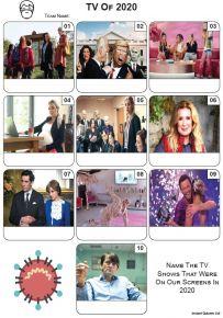 TV of 2020 - Mini Picture Quiz Z3541