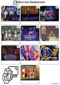 TV Quiz and Gameshows - Mini Picture Quiz Z3566