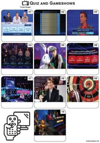 TV Quiz and Gameshows - Mini Picture Quiz Z3568