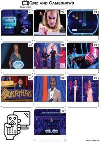 TV Quiz and Gameshows - Mini Picture Quiz Z3569
