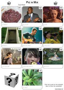 Pic 'n' Mix Mini Picture Quiz Z3578