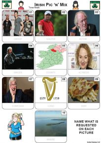 Irish Pic 'n' Mix - Z3591