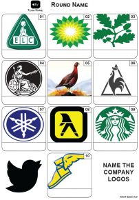 Company Logos Mini Picture Quiz - Z3615