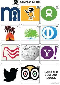 Company Logos Mini Picture Quiz - Z3616