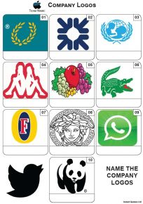 Company Logos Mini Picture Quiz - Z3617