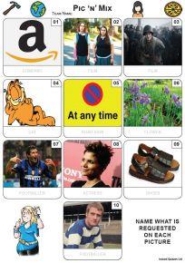 Pic 'n' Mix Mini Picture Quiz - Z3618