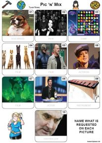Pic 'n' Mix Mini Picture Quiz - Z3620