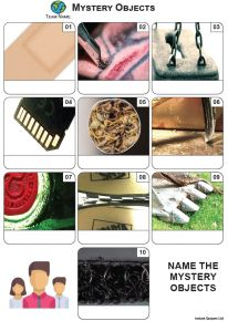 Mystery Objects Mini Picture Quiz - Z3625