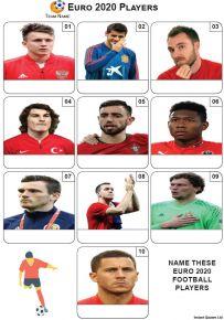 Euro 2016 Flags Mini Picture Round - Z2238