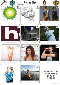 Pic 'n' Mix Mini Picture Quiz - Z3658