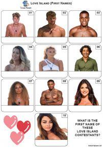 Love Island - Mini Picture Quiz Z3662