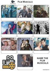 Film Musicals - Mini Picture Quiz Z3668