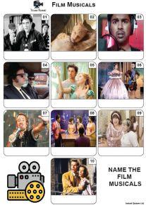 Film Musicals - Mini Picture Quiz Z3669