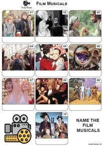 Film Musicals - Mini Picture Quiz Z3670