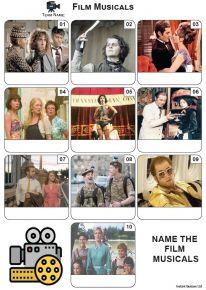 Film Musicals - Mini Picture Quiz Z3671
