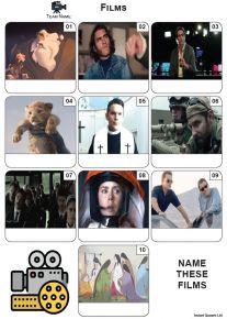 Films - Mini Picture Quiz Z3687