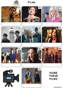 Films - Mini Picture Quiz Z3688