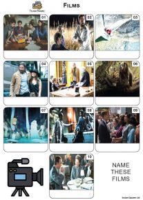Films - Mini Picture Quiz Z3690