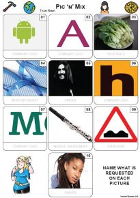 Pic 'n' Mix Mini Picture Quiz - Z3691