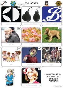 Pic 'n' Mix Mini Picture Quiz - Z3692