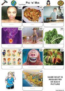 Mixed Bag Quiz Pack 2681