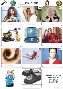Pic 'n' Mix Mini Picture Quiz - Z3694